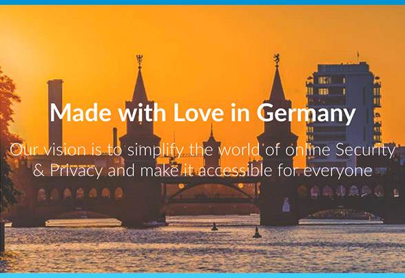 ZenMate is made with pride in Germany